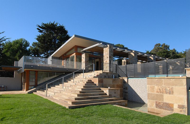 Steps of Tiburon Four Acre Estate.