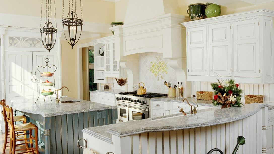 Ross Remodel kitchen with granite countertops
