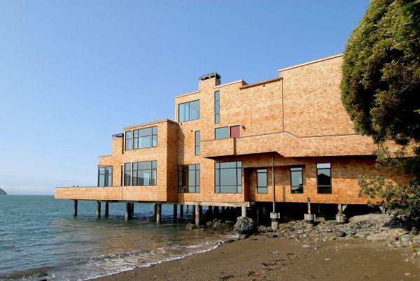 Tiburon Waterfront remodel on the beach.